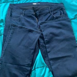 Ladies old navy micro flare jeans